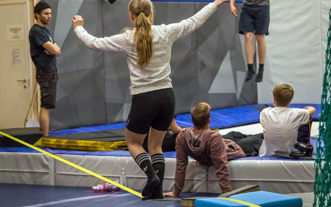Urheilupainotteinen 9.-luokkalaisten ryhmä Rukan koululle